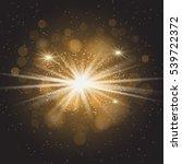 sunlight special lens flare... | Shutterstock . vector #539722372
