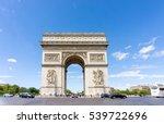 paris  france   august 28  2016 ... | Shutterstock . vector #539722696