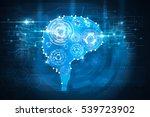 brain gears | Shutterstock . vector #539723902