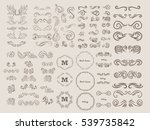 vintage elements for your... | Shutterstock .eps vector #539735842