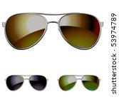vector aviators. you can easy... | Shutterstock .eps vector #53974789
