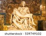 Small photo of Vatican City, Vatican - December 12, 2016: Pieta sculpture at Saint Peter's Basilica in Vatican.