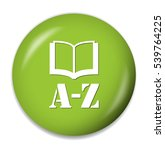 from a to z button | Shutterstock .eps vector #539764225