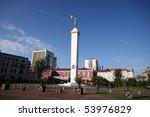 medea statue in the center of... | Shutterstock . vector #53976829
