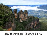 The Three Sisters At Blue...