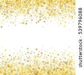 abstract pattern of random... | Shutterstock . vector #539796088