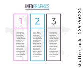 business infographics. outline...