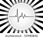 raster image of vector  heart... | Shutterstock . vector #53980846