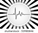 raster image of vector  heart... | Shutterstock . vector #53980846