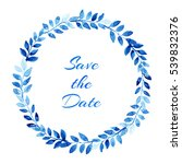 """watercolor wreath """"save the... 
