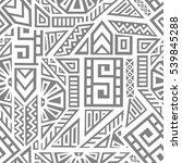 unique geometric vector... | Shutterstock .eps vector #539845288