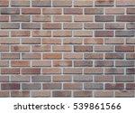 brick wall texture seamless... | Shutterstock . vector #539861566