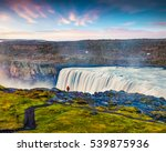 tourist admiring view of...   Shutterstock . vector #539875936