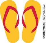 flipflop icon | Shutterstock .eps vector #539933662