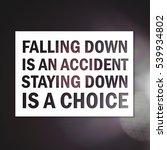 inspirational motivating quote... | Shutterstock . vector #539934802