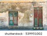 Old House Facade At San...