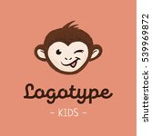 children's logo with the image... | Shutterstock .eps vector #539969872