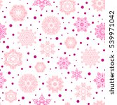 seamless pattern with... | Shutterstock . vector #539971042