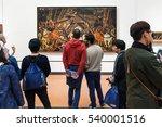florence  italy   november 5 ... | Shutterstock . vector #540001516