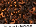 infinite chocolate question... | Shutterstock . vector #540006052