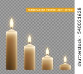 candles burn with fire... | Shutterstock .eps vector #540021628