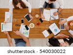 group of busy business people... | Shutterstock . vector #540030022