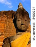 Buddha Statue - Ayuthaya, Thailand - stock photo