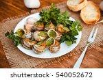 escargots de bourgogne   snails ... | Shutterstock . vector #540052672