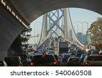 massive traffic jam in the... | Shutterstock . vector #540060508