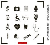 medical icons | Shutterstock .eps vector #540080836