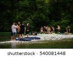 tolmin  slovenia   july 24th  ... | Shutterstock . vector #540081448