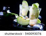 alcoholic cocktail with... | Shutterstock . vector #540093076
