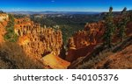 awesome rock formation in the... | Shutterstock . vector #540105376