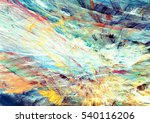 abstract futuristic painting... | Shutterstock . vector #540116206