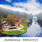 panoramic view on famous sophia ... | Shutterstock . vector #540121915