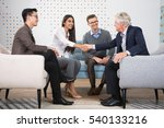young and senior business... | Shutterstock . vector #540133216