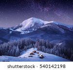 Carpathian Mountain Village In...