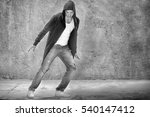 young male modern dancer... | Shutterstock . vector #540147412