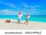happy young cheerful lovers... | Shutterstock . vector #540149962