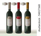 three wine presentation models