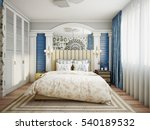 luxurious provence style... | Shutterstock . vector #540189532