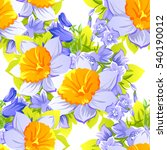 abstract elegance seamless... | Shutterstock .eps vector #540190012