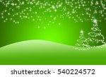 christmas background | Shutterstock . vector #540224572