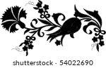 vector flower   Shutterstock .eps vector #54022690