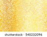 Bright Abstract Mosaic Golden...