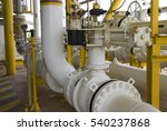 pipelines on oil and gas... | Shutterstock . vector #540237868