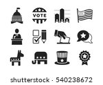 november 8  2016  the united... | Shutterstock .eps vector #540238672