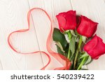 Red Roses And Valentine\'s Day...