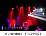 defocused entertainment concert