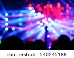 defocused entertainment concert ... | Shutterstock . vector #540245188